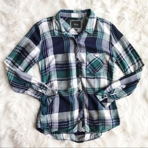 Rails Flannel Button Down o908